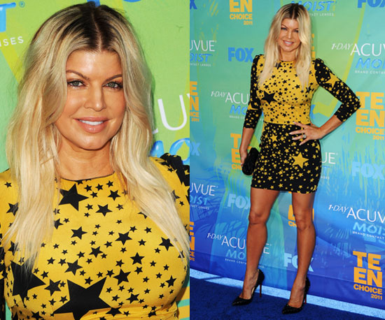 3d27a1071f807675 Fergie Teen Choice Awards carrot top